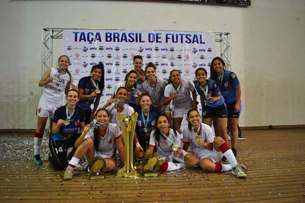 ... semana a equipe de Futsal Feminino C.A.Taboão da Serra sagrou-se campeã  da Taça Brasil de Clubes 1ª Divisão d3551c80459ac