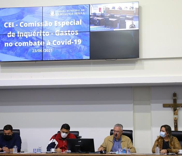 Ricardo Vaz / Divulgação / Imprensa CMTS CEI se reúne publicamente todas as quartas-feiras, às 15h, na Câmara Municipal de Taboão da Serra